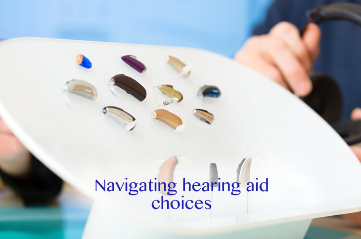 Navigating hearing aid choices